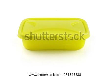 Plastic Container - stock photo