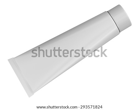 Plastic Container (clipping path included)