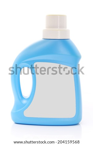 Plastic container for household chemical. Vector illustration.  - stock photo