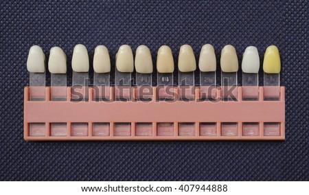 Dental Color Chart Ibovnathandedecker