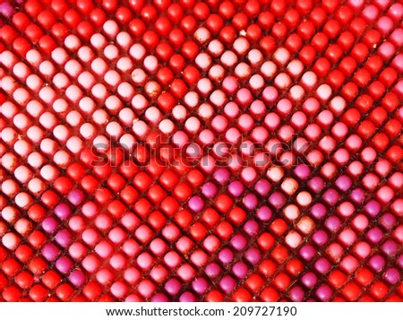 Plastic patterned background