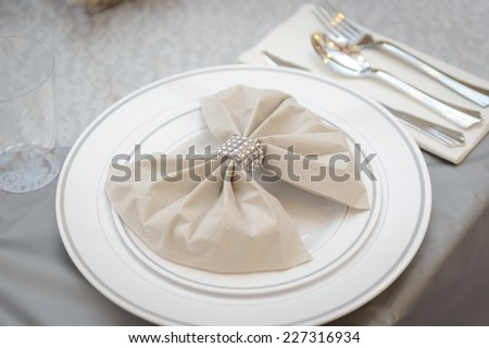 Plastic silverware - stock photo