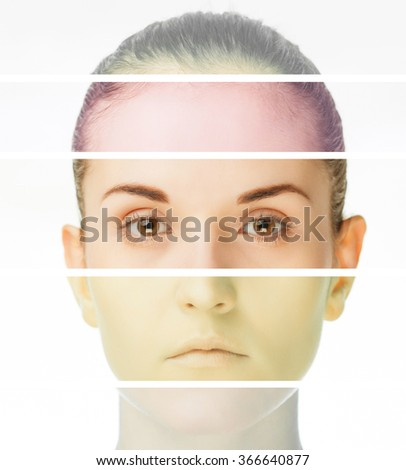 Plastic surgery concept, beauty treatment and skin care