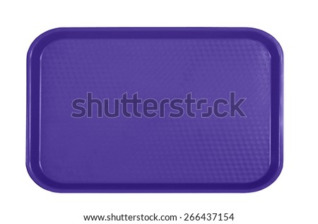plastic tableware food container - stock photo