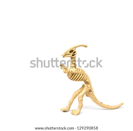 Plastic Toy Animal Dinosaur Skeleton