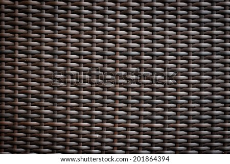 Plastic weave pattern background