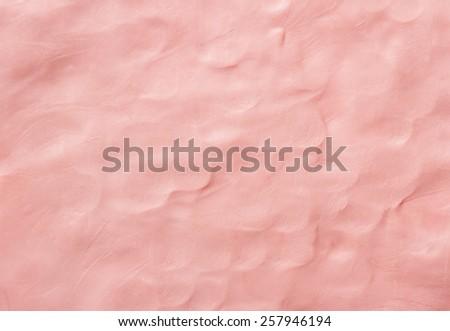 Plasticine textured  background - stock photo