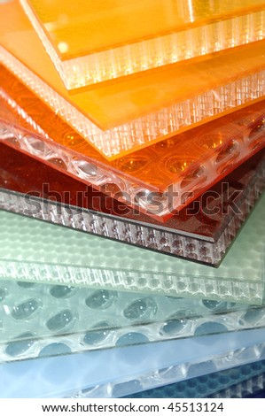plastics - stock photo