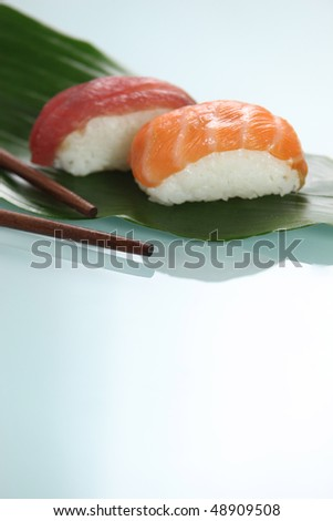 Plate of japanese food