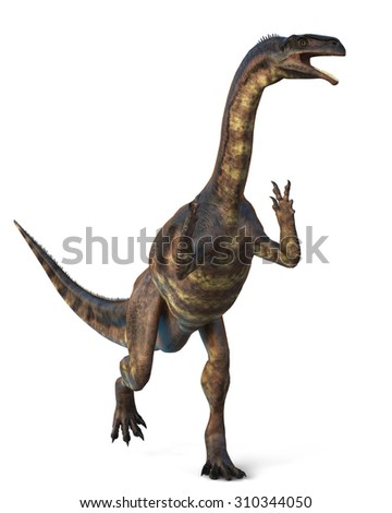 Plateosaurus - stock photo