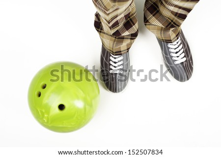 Play bowling - stock photo