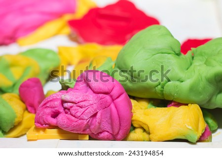 Play Dough - stock photo
