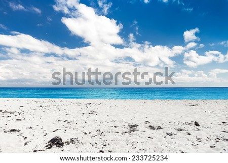 Playa Delfines , Cancun, Mexico  - stock photo