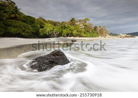 Playa Espadilla in Costa Rica near Manuel Antonio national park