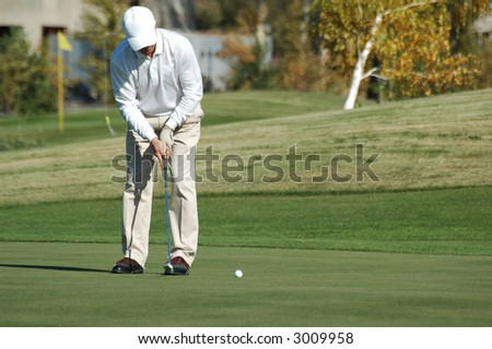 player in golf