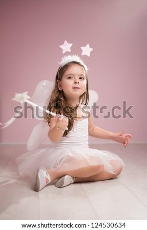 Playful Fairy - stock photo