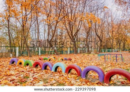 playground  - stock photo