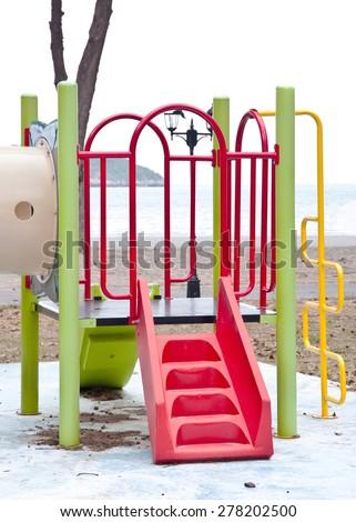 Playgrounds - stock photo