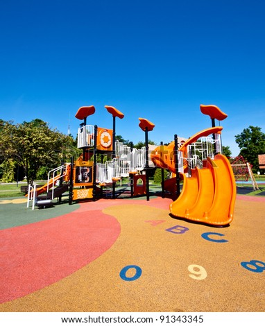 playgrounds in garden