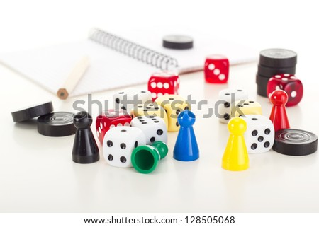 Playing a game - stock photo