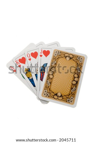 Playing Cards - stock photo