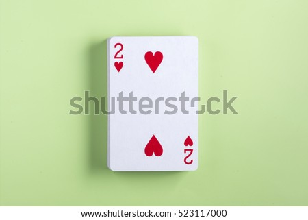 Playing cards two