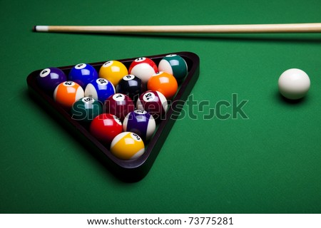 Playing pool, Billiard