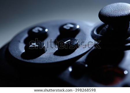 playstation controller - stock photo