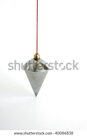 Plumb on white background