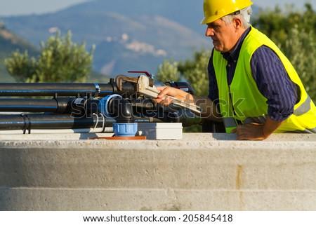 plumber - stock photo