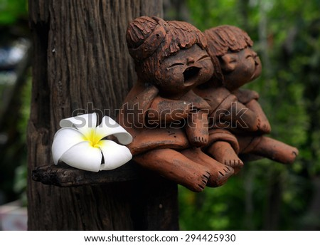 Plumeria - stock photo