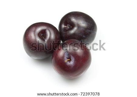 Plums (Red Plums)