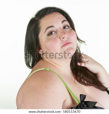 Bbw brunette facial