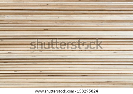 Plywood texture - stock photo