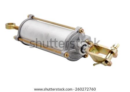 pneumatic cylinder - stock photo