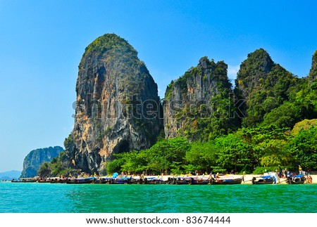Po da Kra bi ,Thailand - stock photo