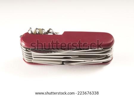 Pocket knife - stock photo