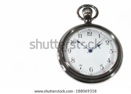 Pocket watch - stock photo