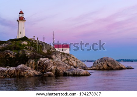 Point Atkinson Lighthouse, Lighthouse Park, West Vancouver, British Columbia, Canada
