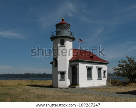 Point Robinson Lighthouse, Vashon Island, WA