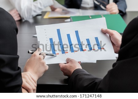 Pointing strategy in marketing and business work - stock photo