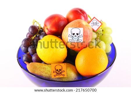 poisonous fruits - stock photo