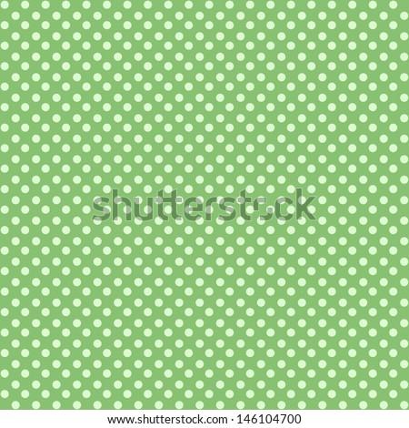 pokadot background - stock photo