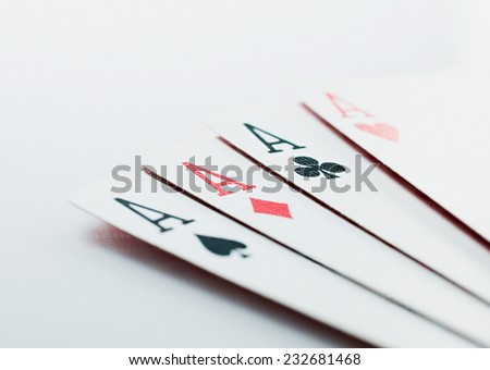 poker - stock photo