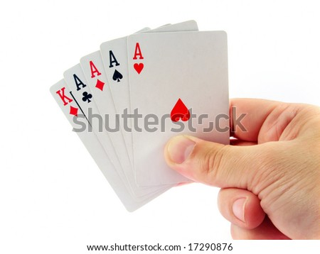 poker four ace in hand