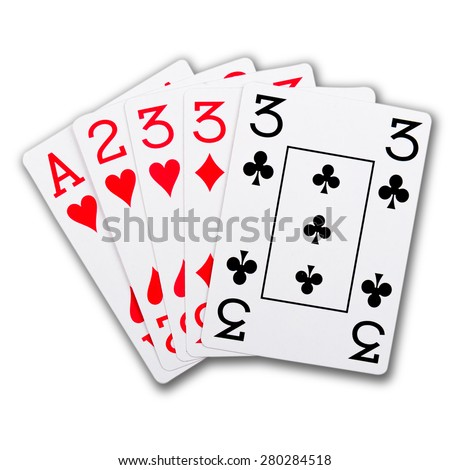 three of a kind card game