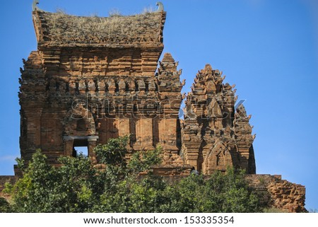 Poklongarai champa tower / Located in Phan Rang city, 98 km to the south of Nha Trang city
