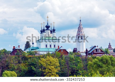 Pokrovsky Monastery, Convent of the Intercession, Suzdal, Russia
