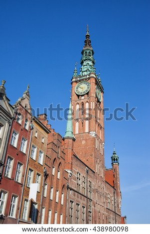 Poland, Gdansk, Old Town, Main Town Hall Tower