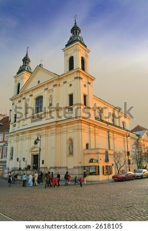 Poland, Warsaw - stock photo